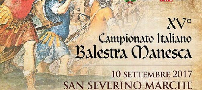 XV° Campionato Italiano Balestra Manesca